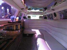 Лимузин Кадиллак №2 интерьер
