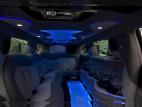 Лимузин Крайслер №3 интерьер