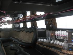 Лимузин Хаммер №1 интерьер
