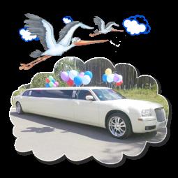 Лимузины на Выписку из Роддома